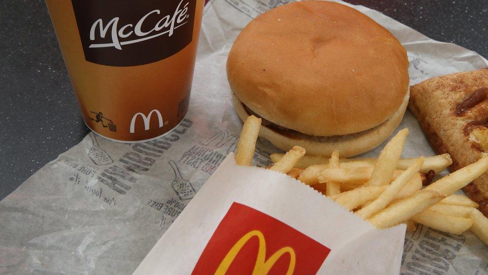 Meal at McDonalds