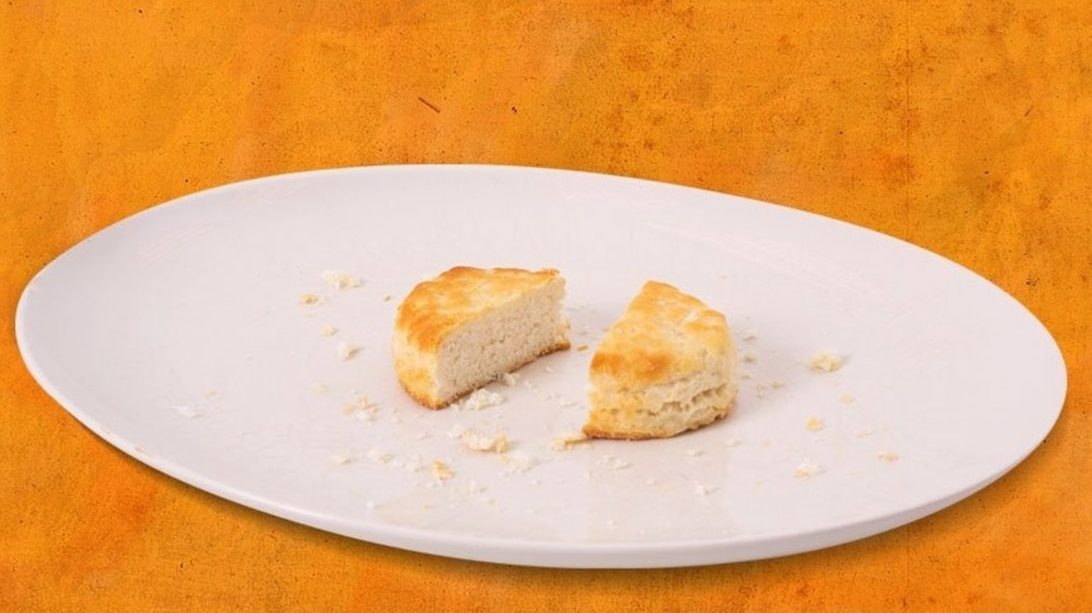 Popeyes' biscuit