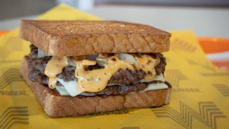 patty melt burger from whataburger