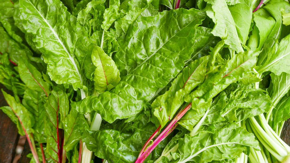 Kale and chard