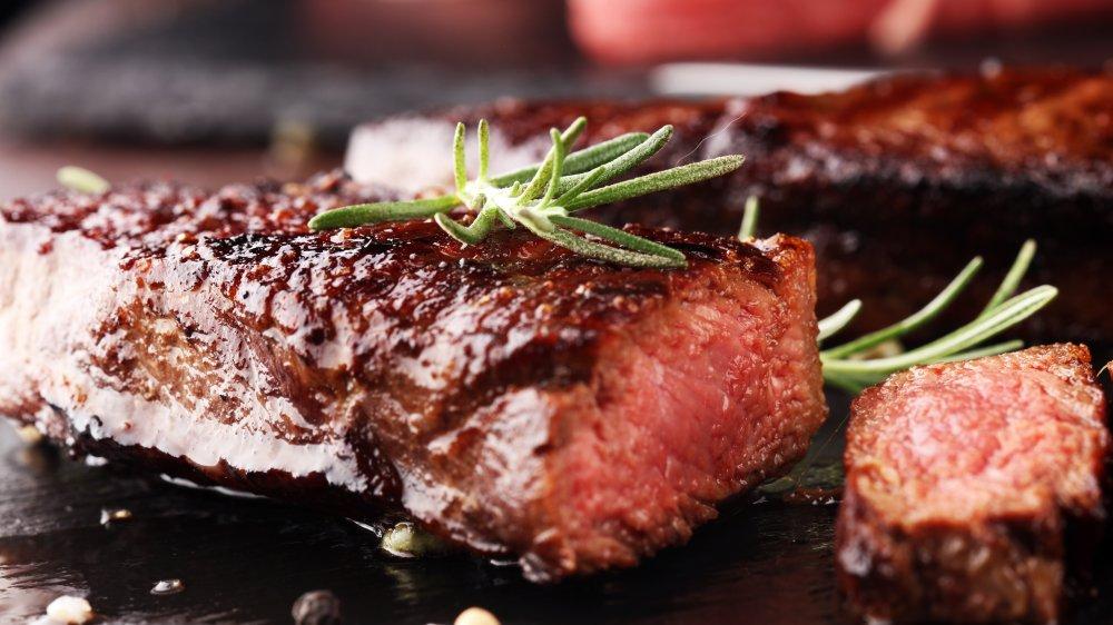 A representational image of steak