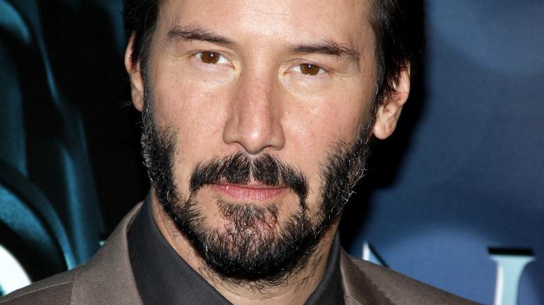 ]Keanu Reeves at John Wick premiere