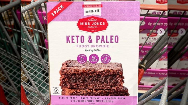 Keto paleo brownie package