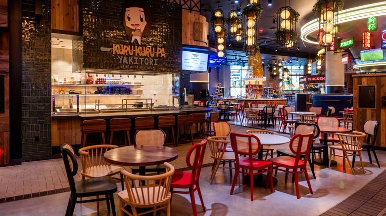 famous foods street eats interior