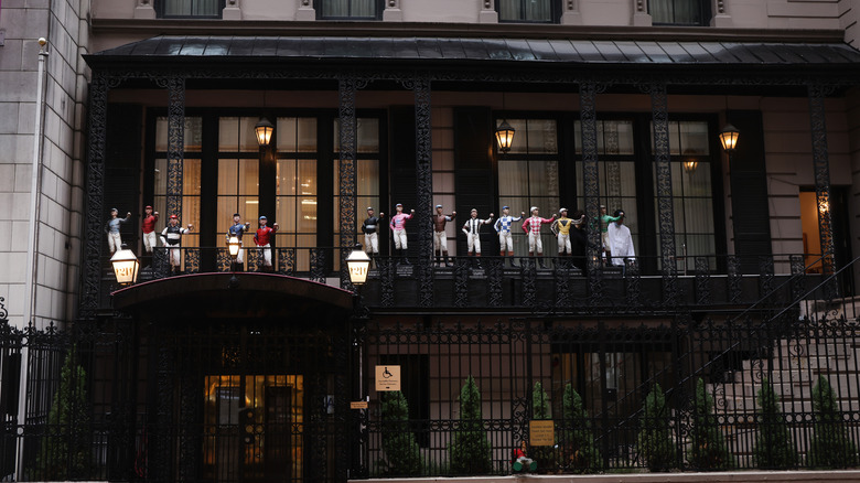 21 Club restaurant in New York