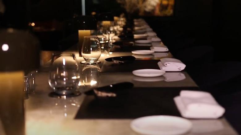 Frevo restaurant table