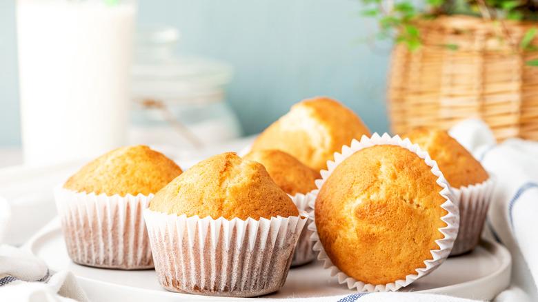 Batch of muffins