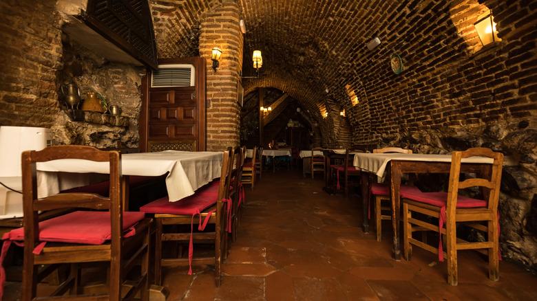 Botín cellar in Madrid