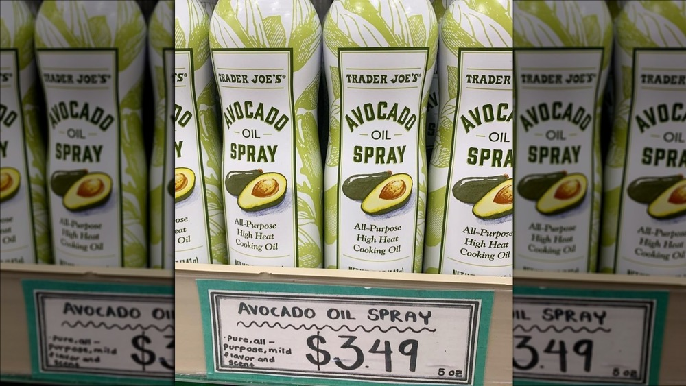 Trader Joe's Avocado Oil Spray on shelves