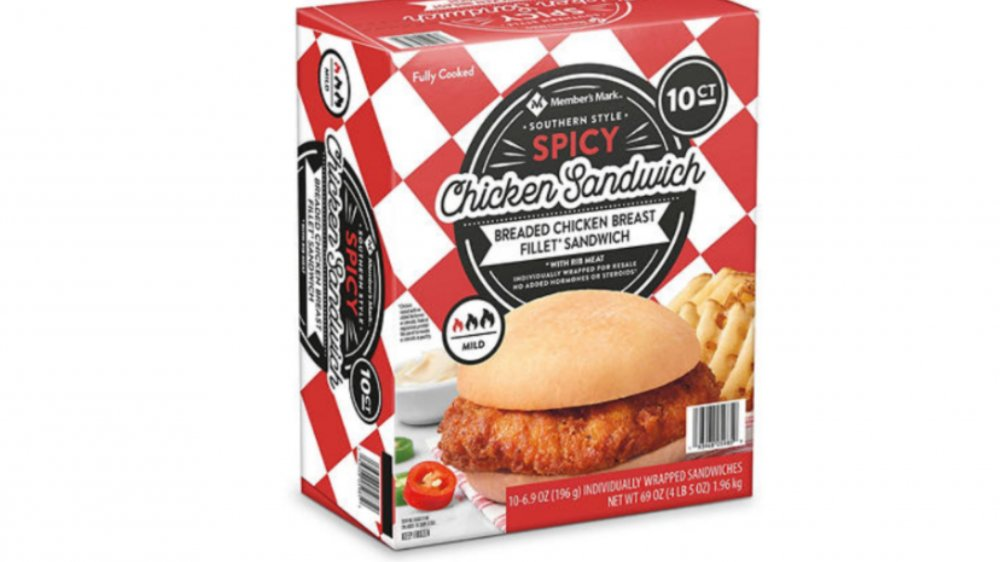 Sam's Club Spicy Chicken Sandwiches
