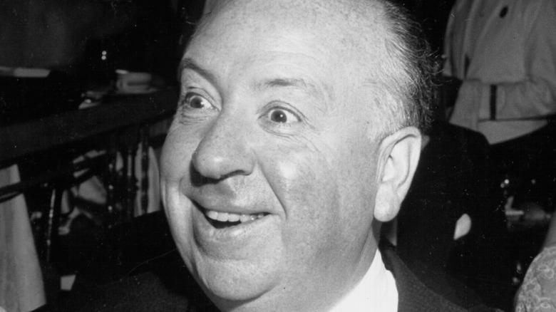 Alfred Hitchcock psycho eyes