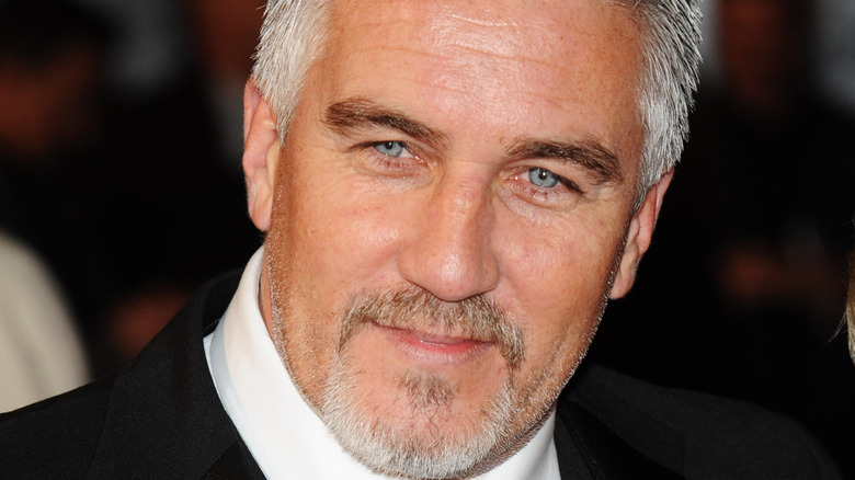 Paul Hollywood in a suit