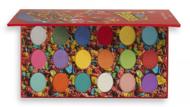 box of Pebbles makeup