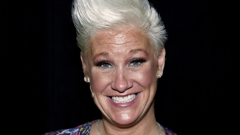 Anne Burrell smiling