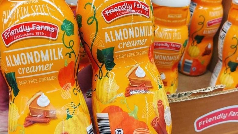 Aldi Friendly Farms Pumpkin Spice Almondmilk Creamer