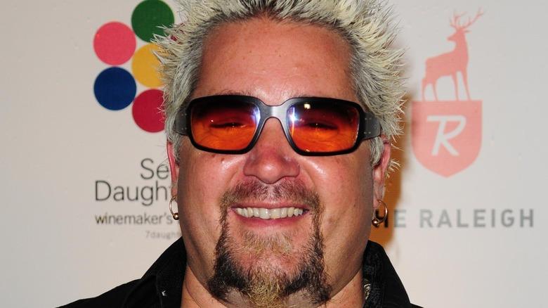 Guy Fieri wearing sunglasses