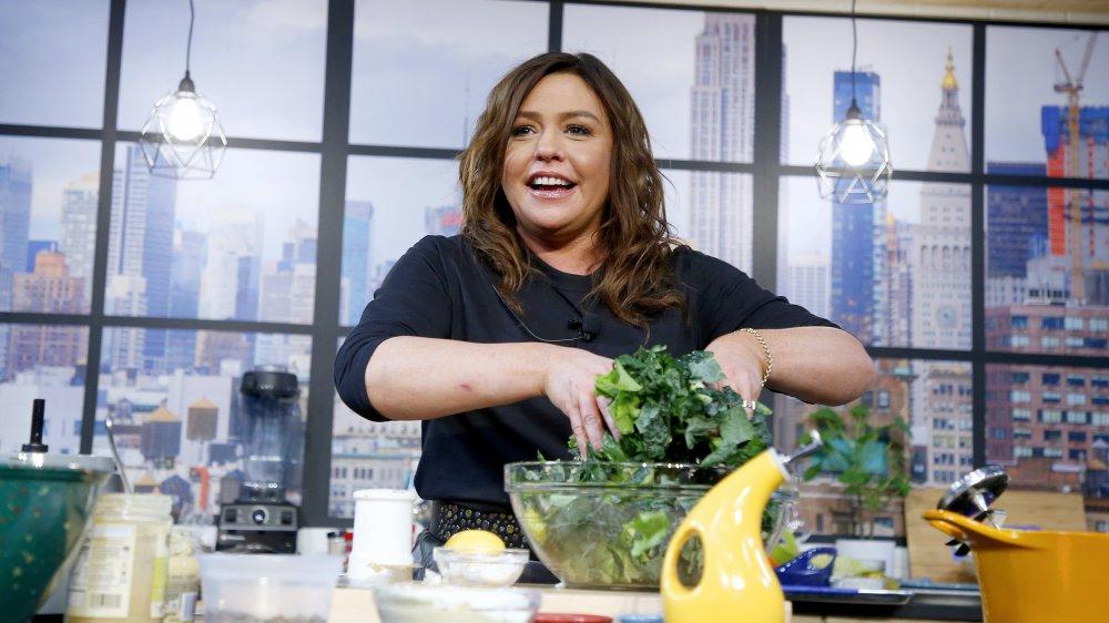 Rachael Ray making a salad
