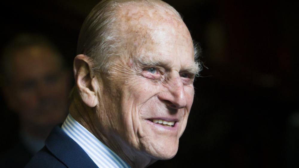 Headshot of Prince Philip