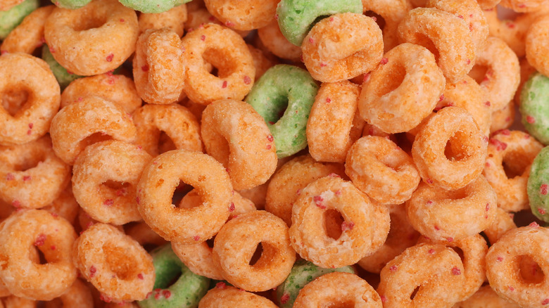 Apple Jacks cereal o's