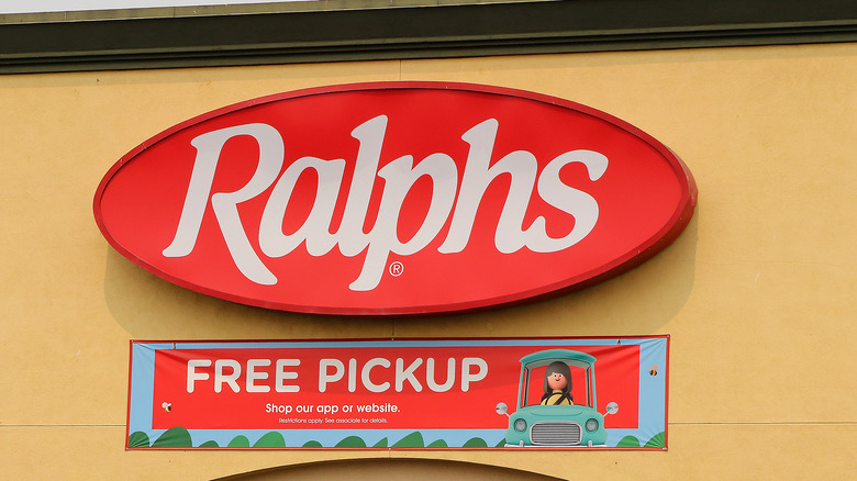 Ralphs signage outside a store
