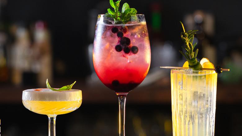 Unique bar glassware