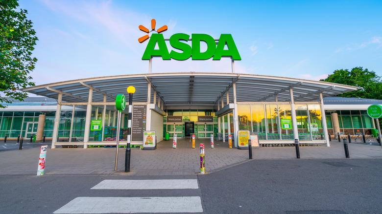 Asda Supermarket in England