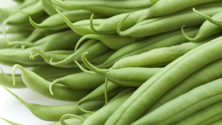 Close-up of Green Beans