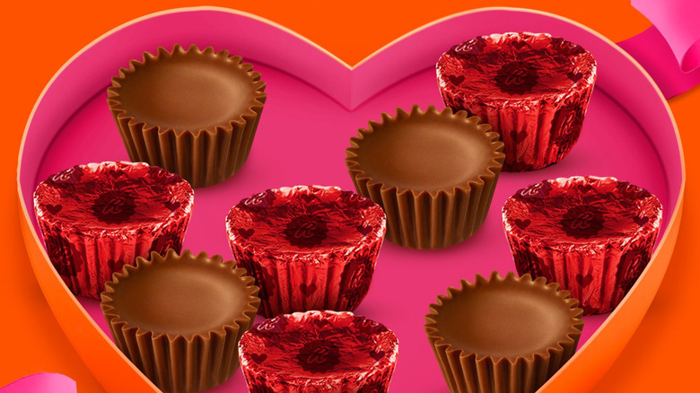 Reese's Peanut Butter Cup valentine