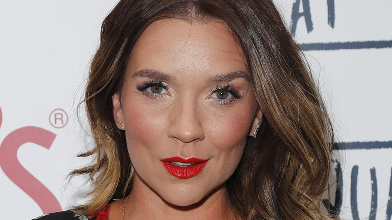 Candice Brown attends event