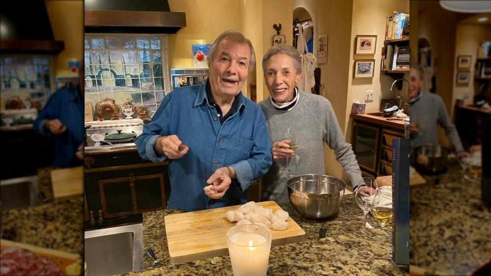 Jacques and Gloria Pépin