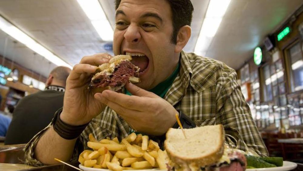 Adam Richman Man v. Food challenge