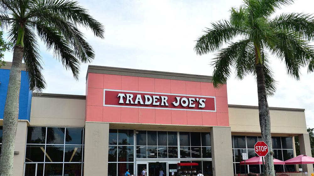 Outside Trader Joe's