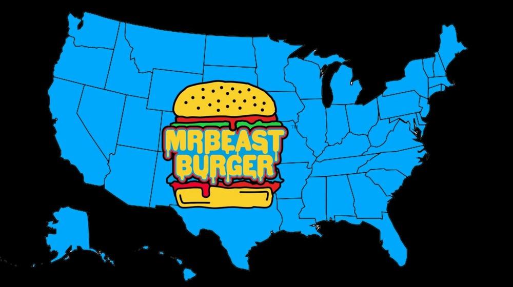 MrBeast Burger map