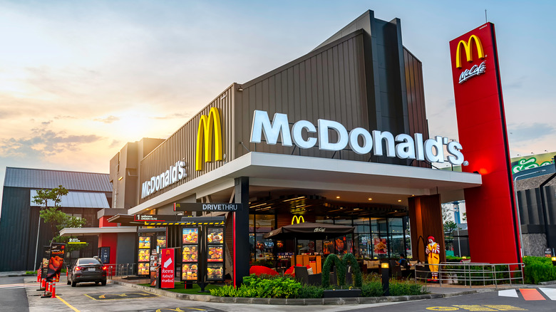 Mcdonald's location exterior