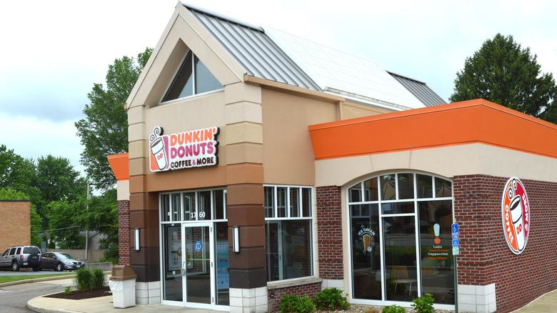 Dunkin' storefront