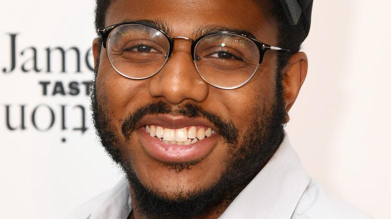Chef Kwame Onwuachi smiling