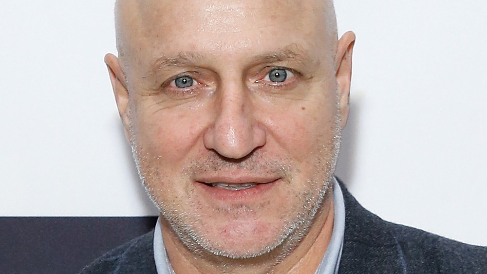 Tom Colicchio's headshot in a navy jacket