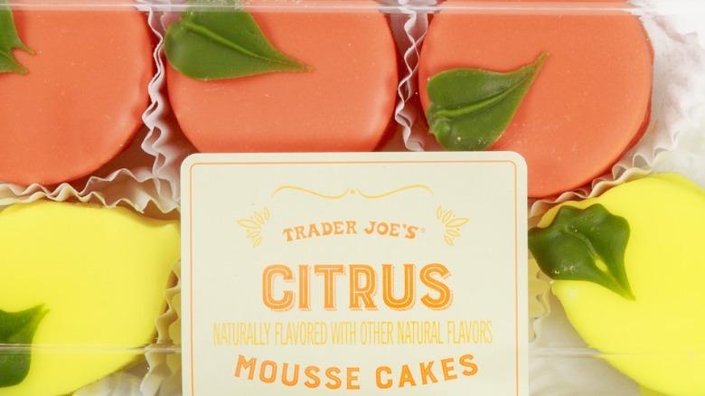 Trader Joe's citrus mousse cakes