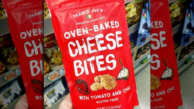 Bag of Trader Joe's Oven-Baked Cheese Bites