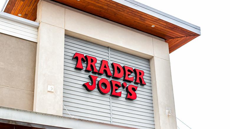 Trader Joe's outside sign