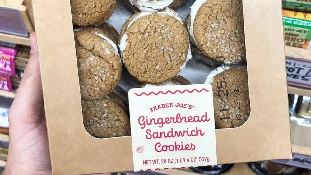 Trader Joe's Gingerbread Sandwich cookies