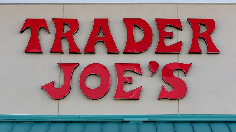 Trader Joe's exterior sign