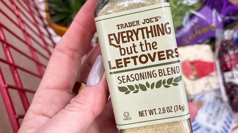 Everything But The Leftovers Seasoning Trader Joe's
