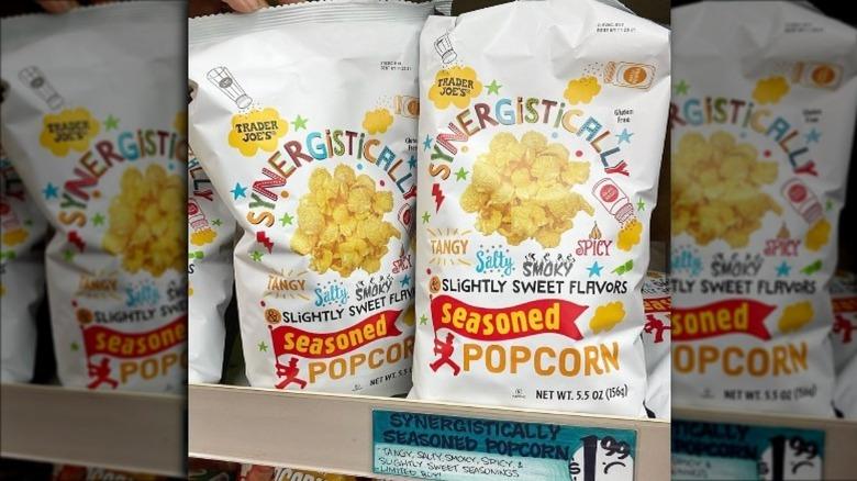 Trader Joe's new seasoned popcorn