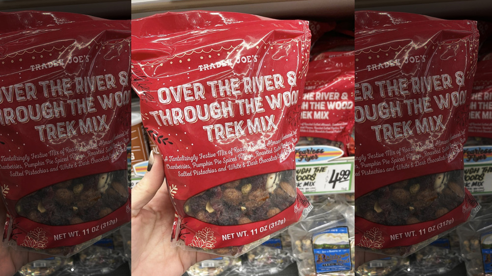 Trader Joe's Over the River and Through The Wood Trek Mix
