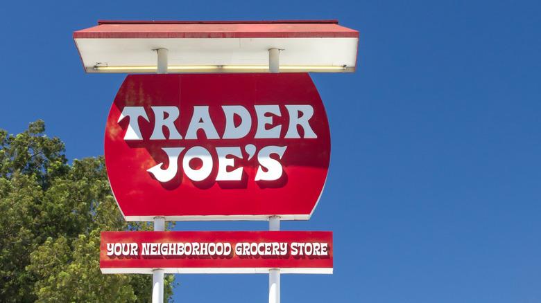 Trader Joe's store sign outside