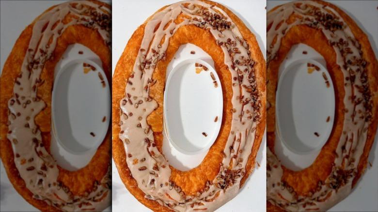 Trader Joe's pumpkin caramel Kringle