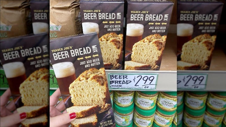 Box of Trader Joe's Beer Bread Mix