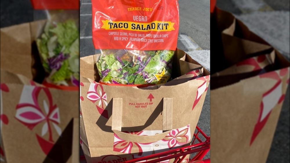 Trader Joe's Vegan Taco Salad Kit