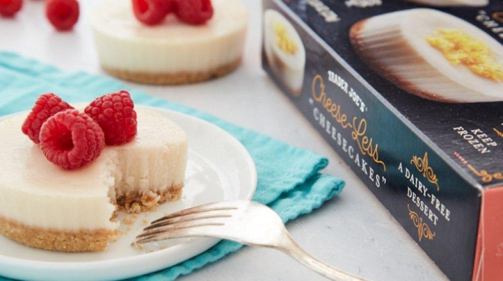 Trader Joe's cheeseless cheesecake